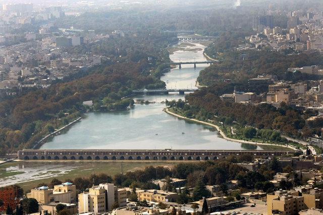 تهیه نقشه قطعه دوم رودخانه زاینده رود