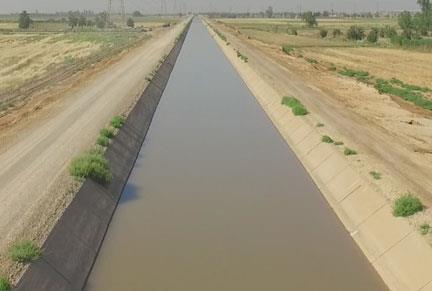 نظارت بر شبکه اصلی آبیاری و زهکشی ساحل چپ رودخانه رامشیر به وسعت 10هزار هکتار