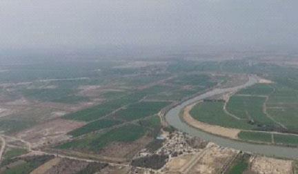نظارت بر اجرای شبکه اصلی آبیاری و زهکشی دژ و قدس