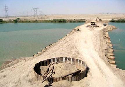 مطالعات و طراحی سد خاکی رودخانه بهمنشیر