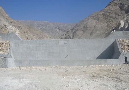 مطالعات و طراحی سد دره زندان شهرستان کنگان