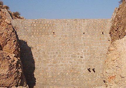 مطالعات، طراحی و نظارت بر احداث سد سنگ و سیمان دره شیرکی ( استان بوشهر)