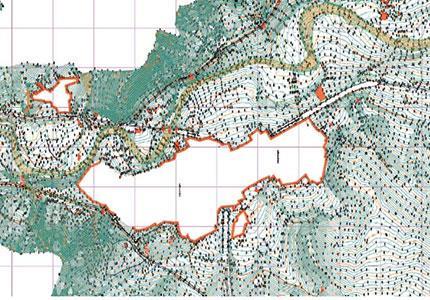 تهیه نقشه های توپوگرافی از محدوده های منتخب طرحهای سدهای تازه کند انگوت (قباله) و عنبران