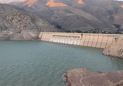 هیدروگرافی دریاچه سد شیرین دره