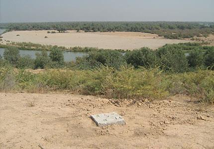 خدمات نقشه برداری روستای خماط و بند انحرافی دزفول