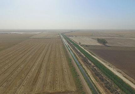 تهیه نقشه حدنگاری اراضی کشاورزی به مقیاس 1:2000 با در اختیار داشتن عکس های هوایی و جمع آوری اطلاعات توصیفی و رفع تداخلات ناشی از اجرای مقررات به مساحت