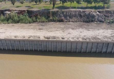 نظارت بر اجرای پروژه ساحل سازی و ساماندهی رودخانه اروند صغیر