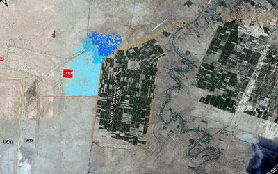 مطالعات ارزیابی و آنالیز ریسک سیلاب در میدان نفتی یادآوران