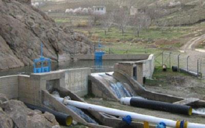 مطالعات بند تنظیمی و مهندسی رودخانه گزنهله سنقر به طول 6.6 کیلومتر