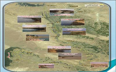 مطالعات تعیین حدبستر و حریم رودخانه کرخه (از سد مخزنی کرخه تا تالاب هورالعظیم) به طول 300 کیلومتر